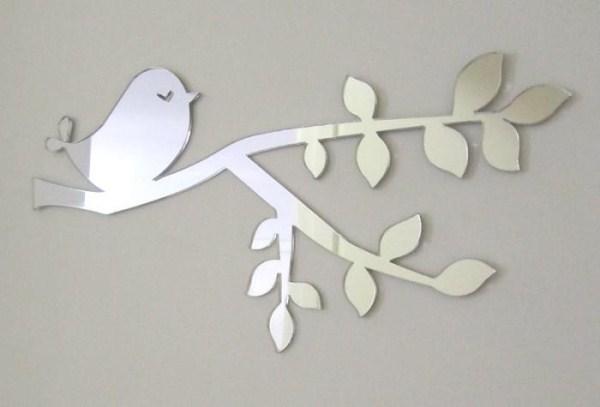 Cut 'n Etch Bird on Branch